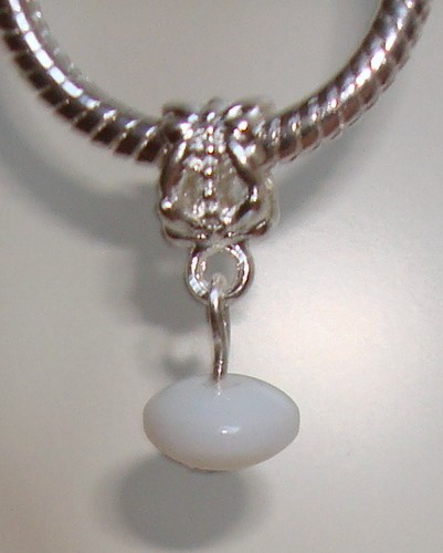 Dangle met witte rondel