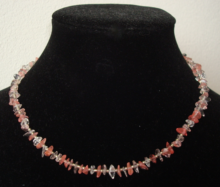 Collier van Cherry Quartz