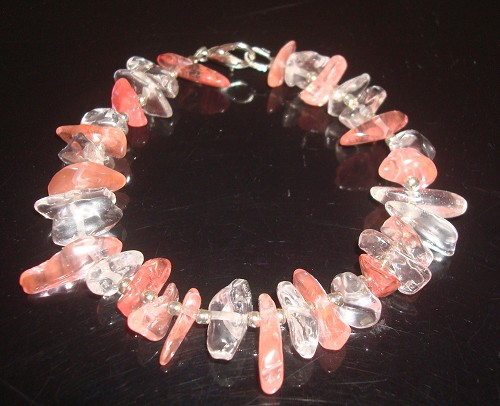 Armband van Cherry Quartz