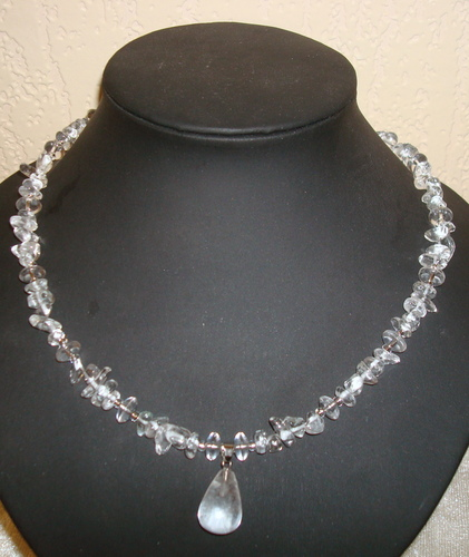 Collier van Natural Crystal