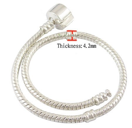 Sterling silverplated armband mt 22